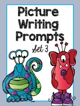 Picture Writing Prompts (Monster Theme)