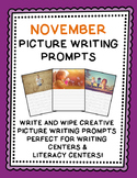 Picture Writing Prompts {November}