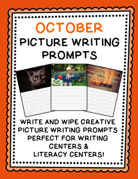 Picture Writing Prompts {October}
