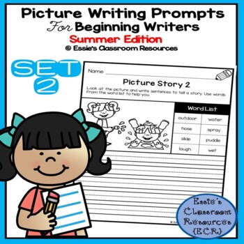 Picture Writing Prompts - Set 2 (Summer Edition)