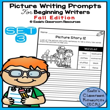 Picture Writing Prompts - Set 3 (Fall Edition)