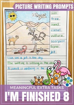 Picture Writing Prompts - Short Writing Tasks