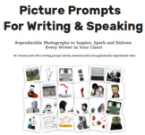 Picture Writing Prompts Student book.