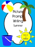 Picture Writing Prompts- Summer