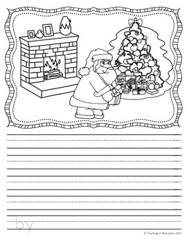 Picture Writing Prompts for December | Writing Center | Christmas | Winter