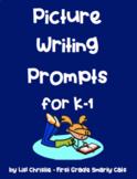 Picture Writing Prompts for K-1