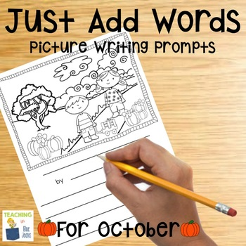Picture Writing Prompts for October | Fall | Writing Center | Halloween