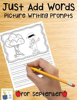 Picture Writing Prompts for September {Easy Writing Center}