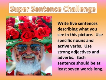 Picture Writing Prompts for Whiteboard Set 3
