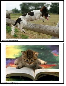 Picture Writing Prompts with Visual Support Strips for Writers of All Ages