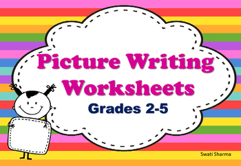 Picture Writing Worksheets Grades 2 to 5