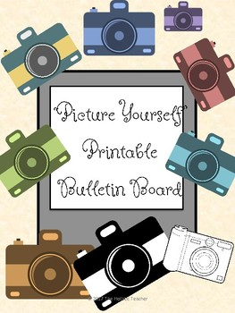 picture relating to Printable Camera called Envision By yourself Printable Bulletin Board