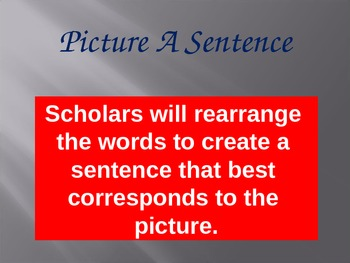 Picture a Sentence