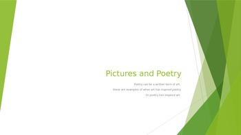 Picture and Poetry