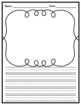 Picture and Response Graphic Organizer