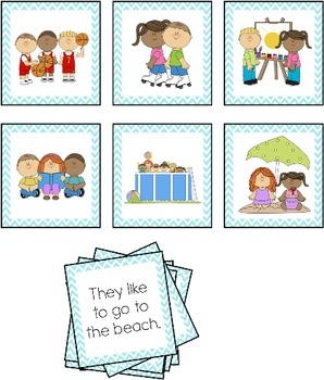 Picture and Sentence Match Set 2