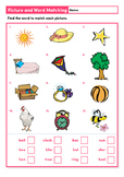 Picture and Word Matching (Level 1)
