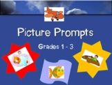 180 Picture and Word Prompts - Grade 1