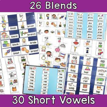 Picture & Word Sorts Bundle