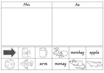 Picture and word sorts
