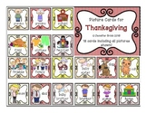 Picture cards: Thanksgiving words #I am thankful for