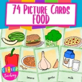 Picture cards food