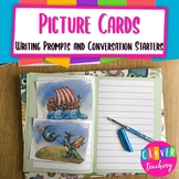 Picture cards writing prompts