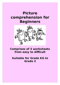 Picture comprehension for beginners