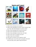Picture conversation questions