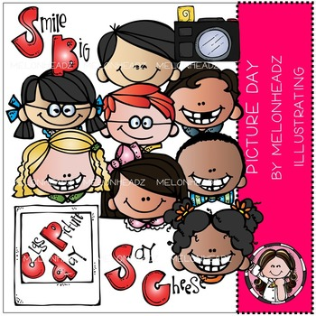 Picture day clip art - COMBO PACK- by Melonheadz
