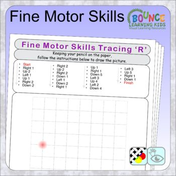 Picture grid (29 distance learning worksheets for Hand-eye coordination)