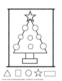 """Picture-n-Frame™ """"Christmas-Shapes Design"""""""