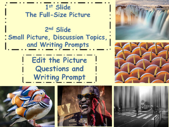 PICTURE OF THE DAY 4th Nine Weeks Critical Thinking Visual Writing Prompts Infer