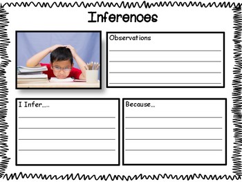 Making Inferences: Picture of the Day