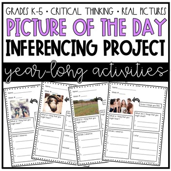 Picture of the Day (Making Weekly Inferences About Everyday Pictures)-Year-Long!