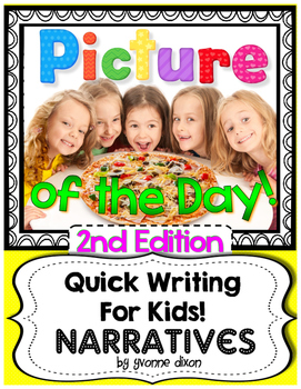 Picture of the Day {Narrative Quick Writing for Kids!  2nd Edition}