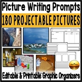 Writing Picture Journal Prompts for First Second and Third Grade Bundle