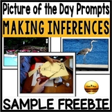 FREE Picture Prompts for Morning Chats ELA Common Core Aligned K-3rd Grades