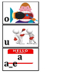 Phonics picture flashcards