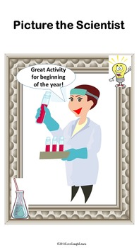 Picture the Scientist-Begining of the year activity
