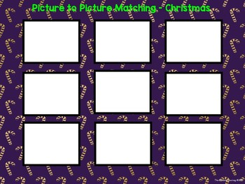 Picture to Picture Matching - Christmas