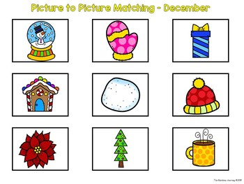 Picture to Picture Matching - December