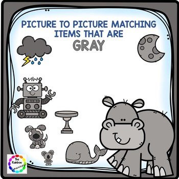 Picture to Picture Matching - Gray Items