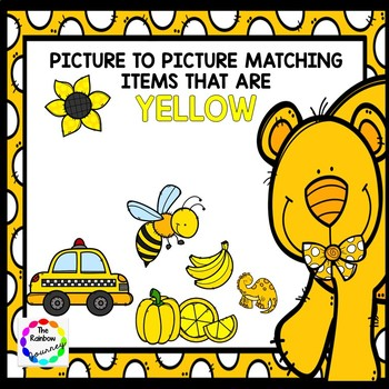Picture to Picture Matching - Yellow Items