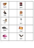 Word to Picture Matching - CVC Phoneme Sheets for Autism/S