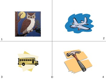 Picture vocabulary/Pictures for expressive/receptive language skills