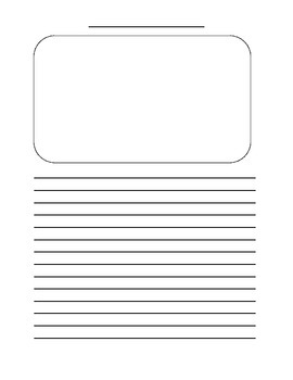 Picture with Writing Template