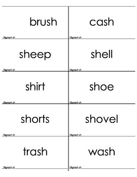 Picture/Word Matching Game Set 4 Digraphs/Diphthongs/r controlled vowels