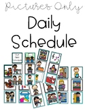 Pictures Only Daily Schedule