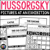 Pictures at an Exhibition by Modest Mussorgsky, Classical Music Listening Pack